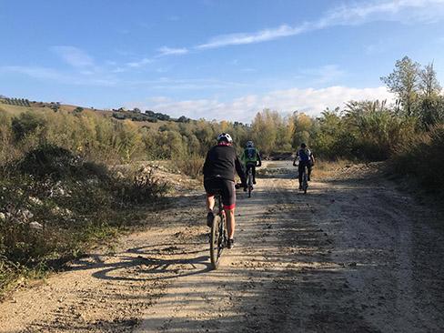 Percorso bike Basciano Abruzzo