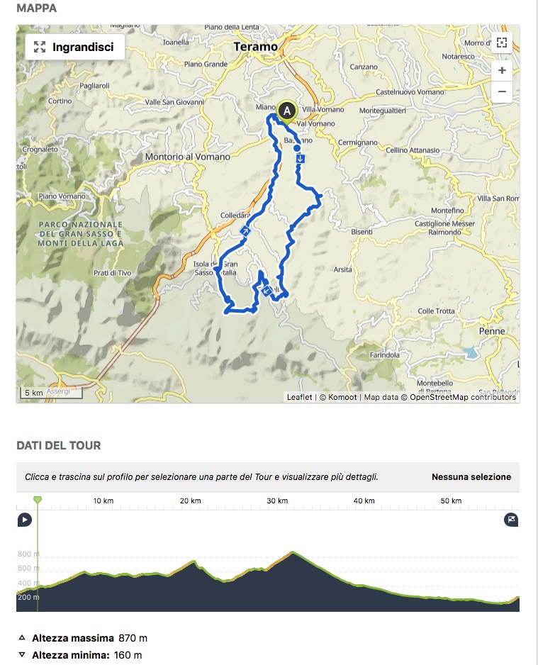 Abruzzo bike MTB Castelli escursioni